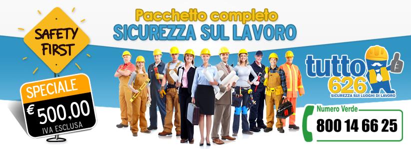 offerta promozionale sicurezza sul lavoro