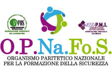 Logo OPNAFOS Organismo paritetico formazione lavoratori